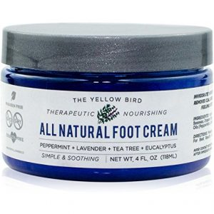 foot cream all natural