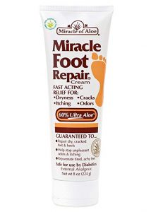 foot cream miracle of aloe