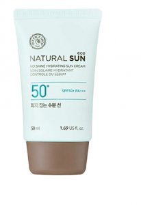 natural sun block cream