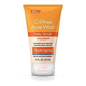 oil-free acne face wash