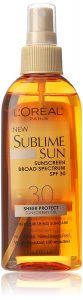 Sunscreen Oil: Protection from Sun Rays Just Got Better
