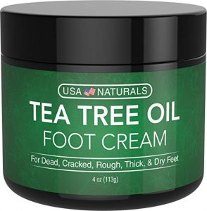 tea tree oil heel cream
