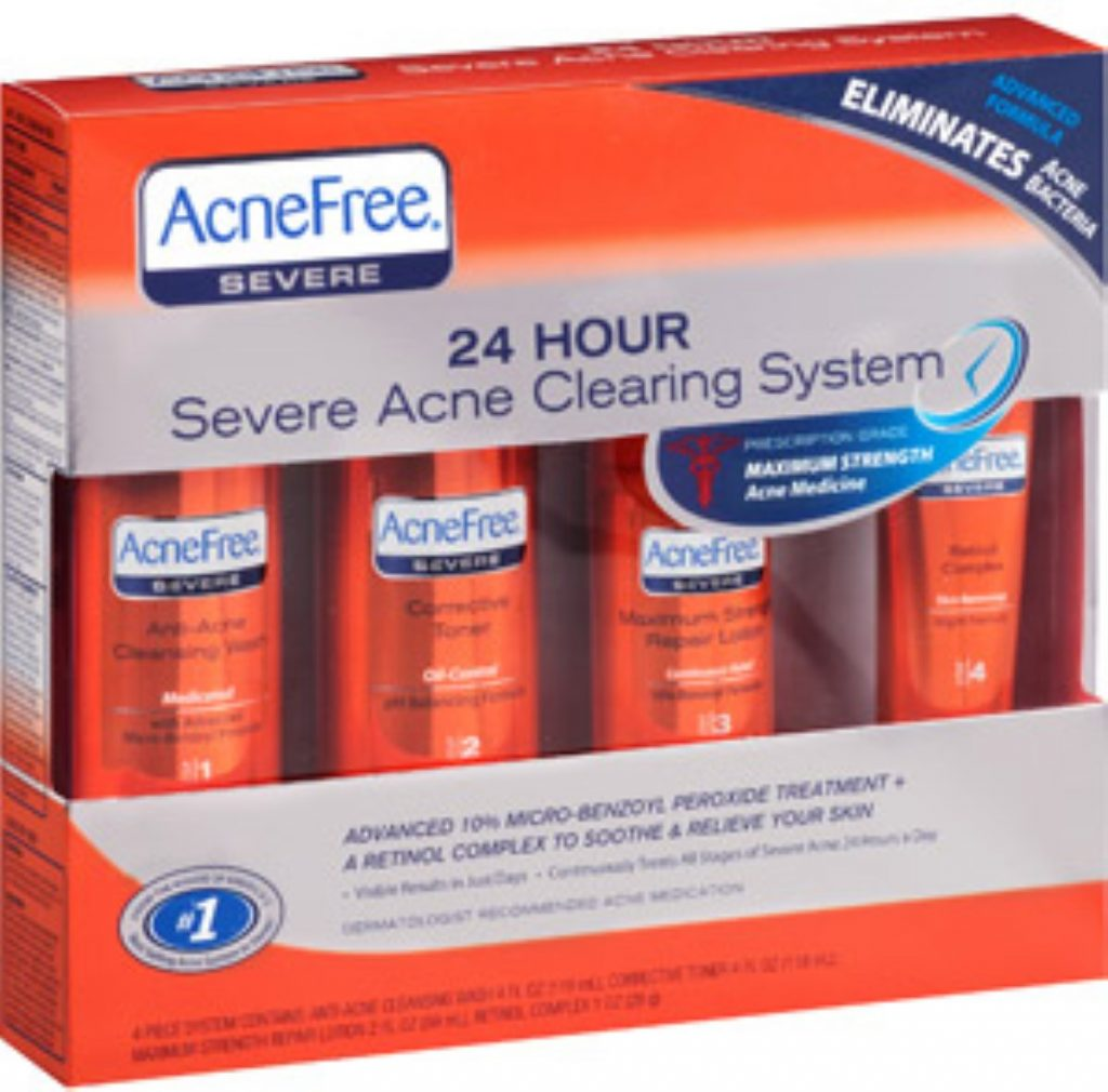 AcneFree 24 Hour Severe Acne Clearing System – Detailed Review