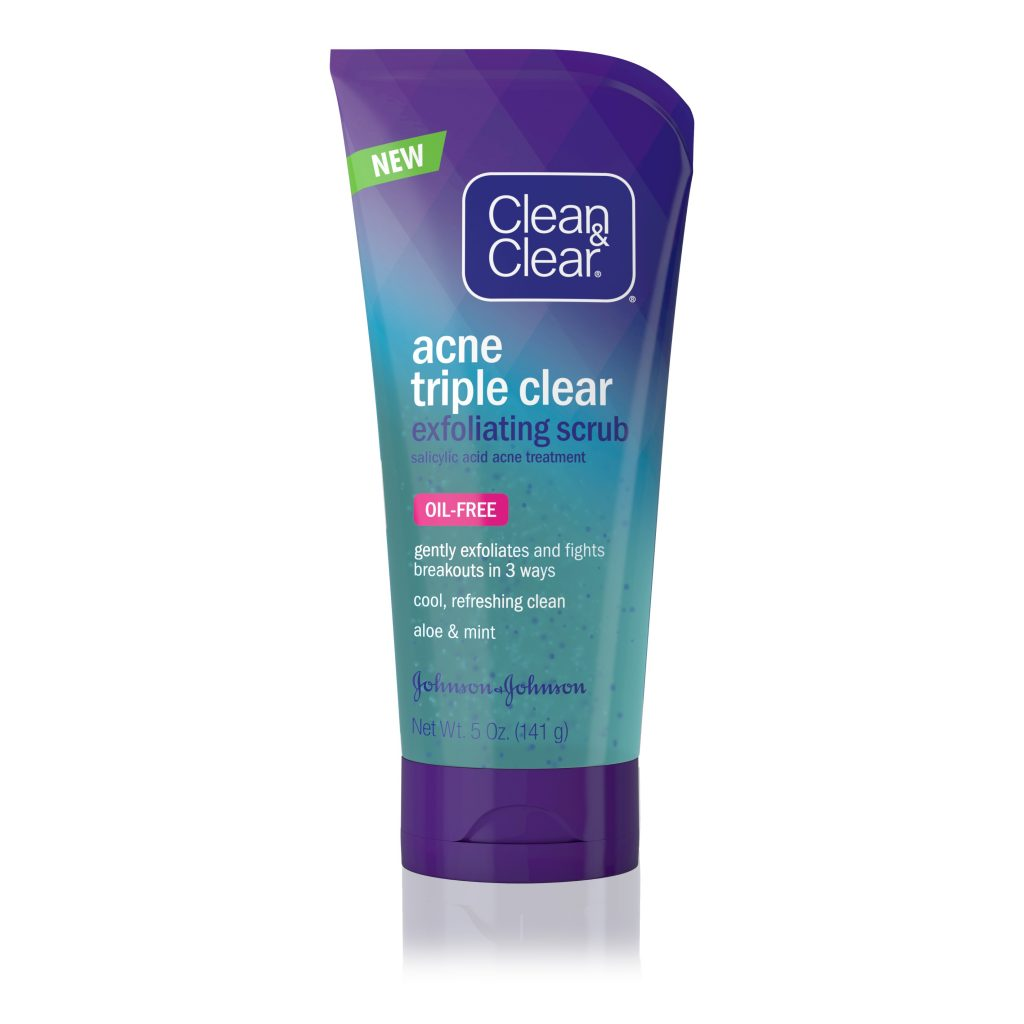 Clean and Clear® Acne Triple Clear Exfoliating Facial Scrub – Detailed Review