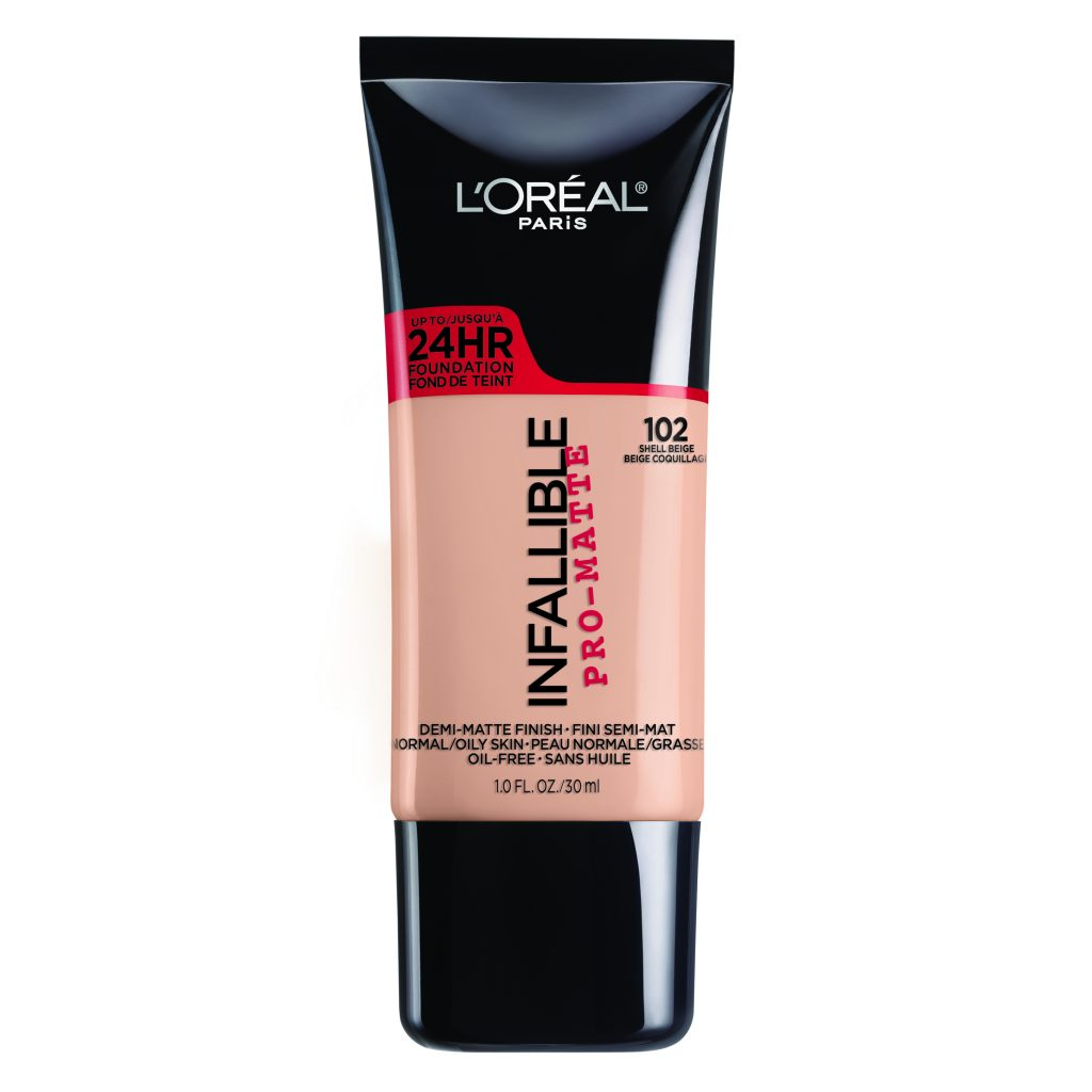 L'Oréal Paris Infallible Pro-Matte 102 Shell Beige vs Pro-Glow 202 Creamy Natural Foundations – Extensive Comparison