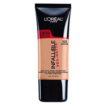 L'Oréal Infallible Pro-Matte Foundation 103 vs 104 – Detailed Comparison