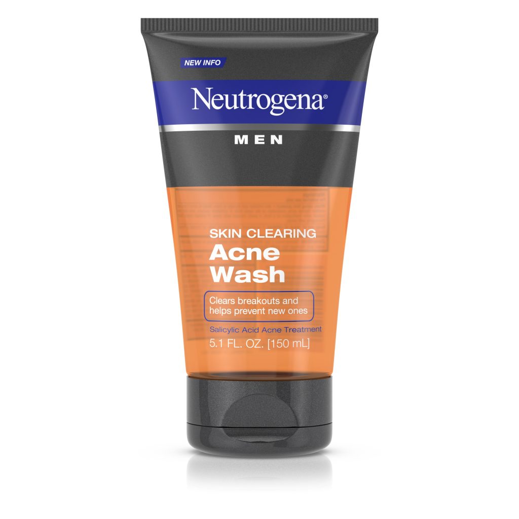 Neutrogena Men Skin Clearing Acne Wash – Comprehensive Review